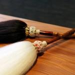 線香筒 四方竹製
