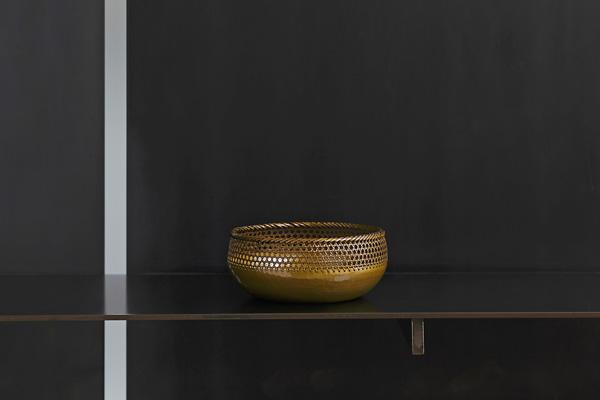 打物製手編み菓子鉢
